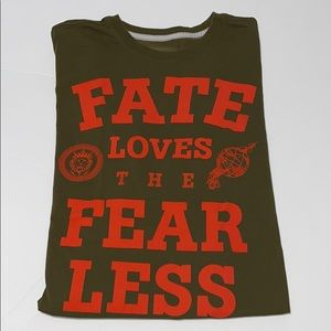 """Nike """"Fate Loves The Fearless"""" T-shirt"""
